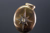 ANTIQUE 15CT GOLD LOCKET WITH OLD MINE AND ROSE CUT DIAMONDS - SinCityFinds Jewelry