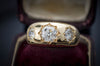 1.9CTW OLD EUROPEAN CUT GYPSY STYLE RING - SinCityFinds Jewelry