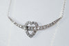 0.70CTW ANTIQUE DIAMOND CRESCENT / HEART NECKLACE CONVERSION - SinCityFinds Jewelry