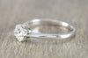 0.78CT OLD EUROPEAN CUT DIAMOND SOLITAIRE IN WHITE GOLD