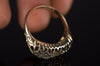 VICTORIAN OLD CUT DIAMOND  BOAT RING IN 15K GOLD - SinCityFinds Jewelry