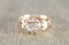 ANTIQUE ROSE CUT DIAMOND  SOLITAIRE RING
