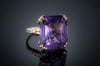 VINTAGE AMETHYST RING IN 14K GOLD