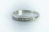 VINTAGE SINGLE CUT DIAMOND PLATINUM BAND - SinCityFinds Jewelry