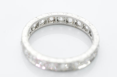 1.25CTW OLD EUROPEAN CUT DIAMOND BAND IN PLATINUM