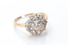 1.66CTW OLD CUT DIAMOND CLUSTER RING - SinCityFinds Jewelry
