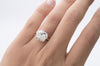 4.76CT ANTIQUE CUSHION CUT SOLITAIRE - SinCityFinds Jewelry