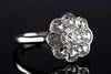 1.27CTW OLD EUROPEAN AND ROSE CUT HALO BY JULIA B. - SinCityFinds Jewelry
