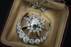 4.5CTW OLD CUT DIAMOND STAR AND CRESCENT NECKLACE - SinCityFinds Jewelry