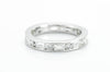 1.5CTW PLATINUM MIXED CUT ETERNITY BAND - SinCityFinds Jewelry