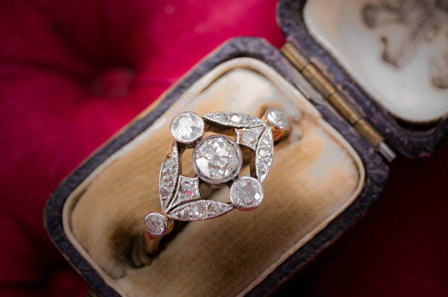 belle epoque engagement ring