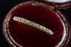 VINTAGE WHITEROSE WEDDING BAND - SinCityFinds Jewelry