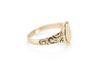 E.M.A SIGNET RING - SinCityFinds Jewelry