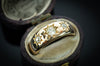 VINTAGE THREE STONE GYPSY RING - SinCityFinds Jewelry