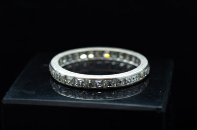 1.9CTW FRENCH CUT ETERNITY BAND - SinCityFinds Jewelry