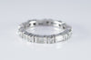 1CTW BAGUETTE AND ROUND ETERNITY BAND