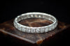 ART DECO 1CTW DIAMOND ETERNITY BAND - SinCityFinds Jewelry