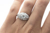 1.75CTW ART DECO PLATINUM AND DIAMOND RING