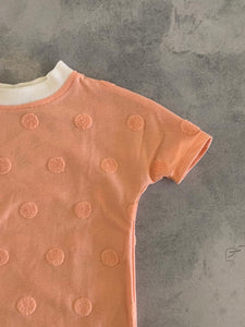 Nerds Shorts & Tee ( Peach )