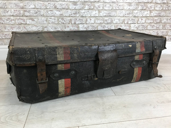 Vintage Travellers Sample Case Trunk in Solid Leather