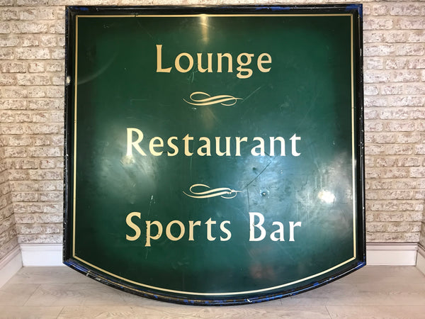Large Metal Bar & Pub Signage