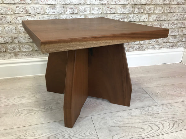 American Walnut Square Coffee Side Table