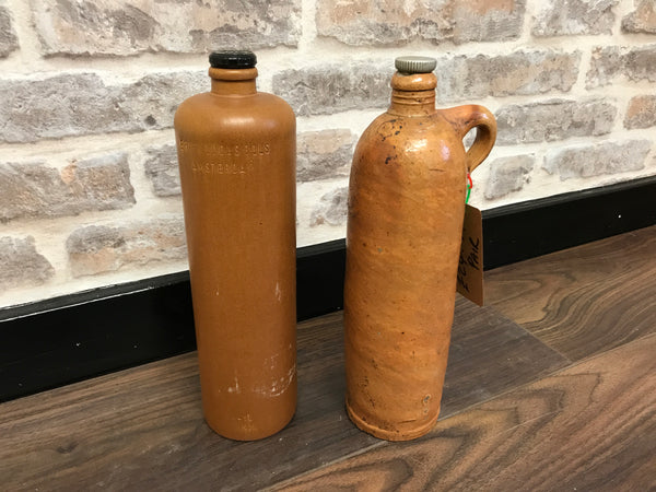 Pair of Vintage Beer Canisters