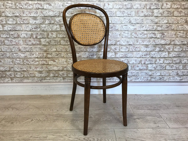 Bentwood Whicker Ratan Dining Chair