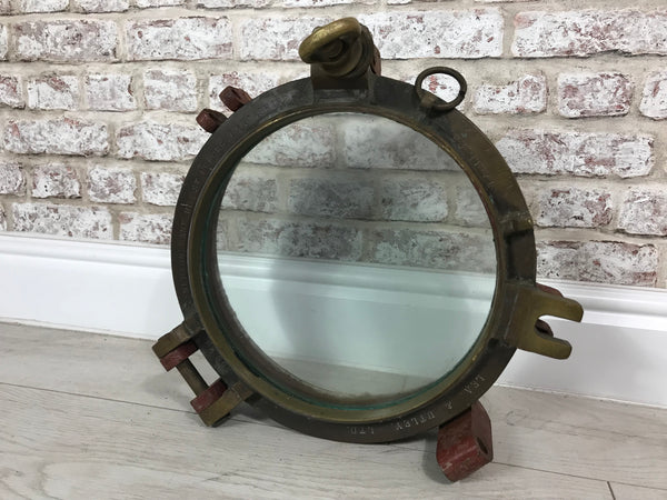 Original Ship Porthole Window - Lea & Utley Ltd St Helens Lancashire