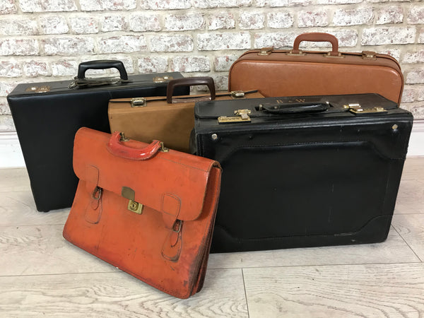 Collection of Display Cases & Satchels