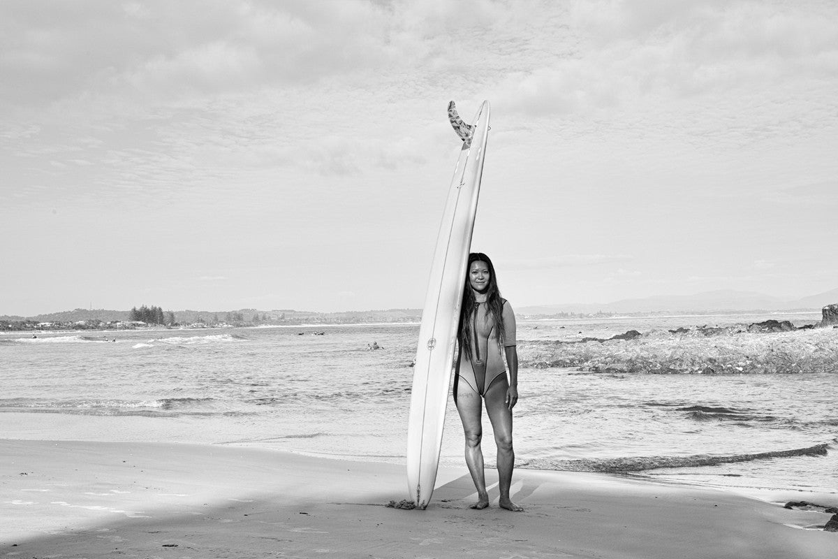 Lightwaves - a portrait series of Single Fin Women from Byron Bay