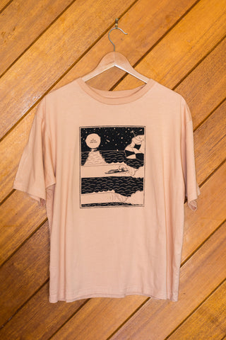 Do Nothing Tee by Peter Pascoe