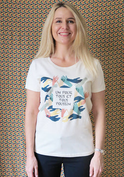 T-shirt Poussin motif Ensemble