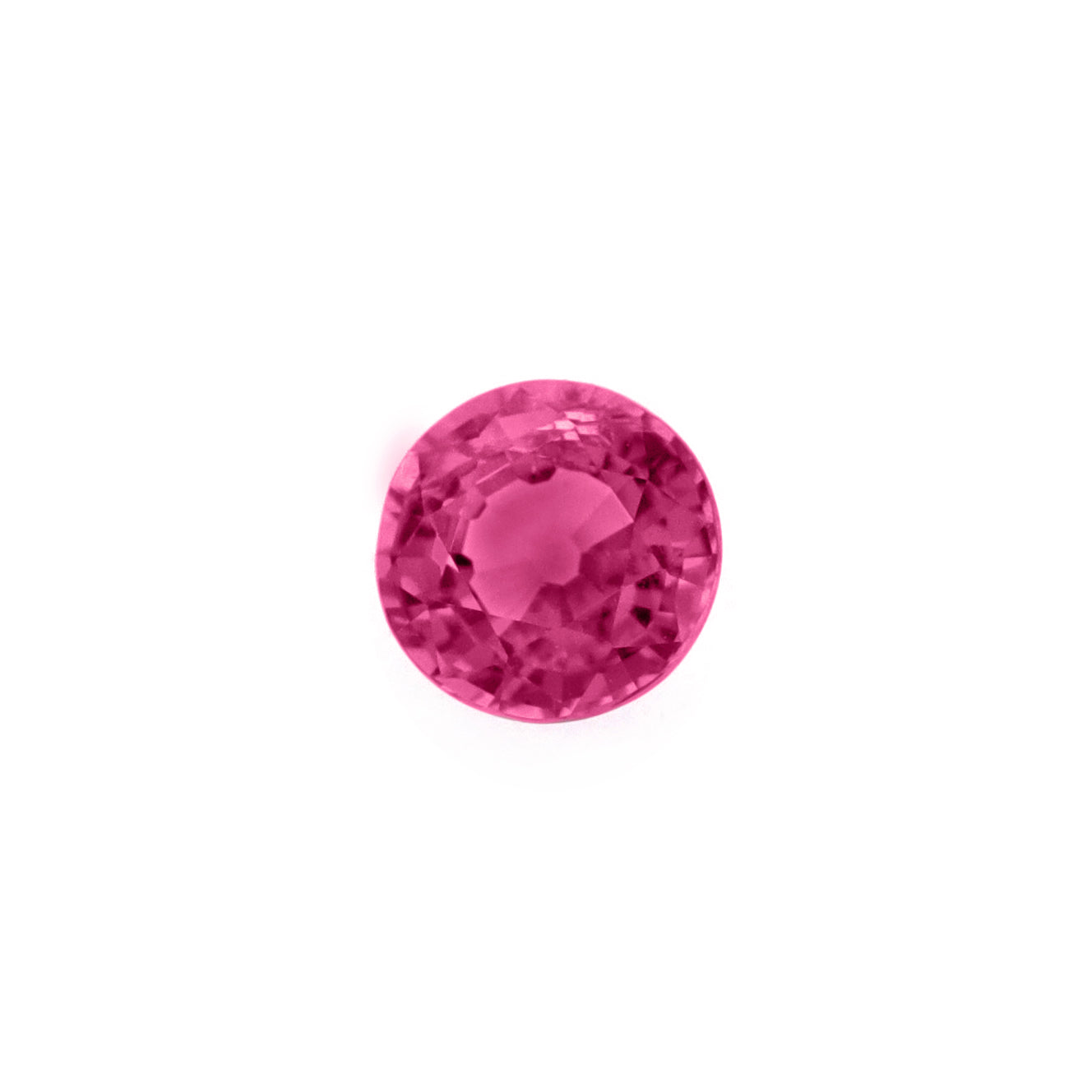 Pink spinel facet