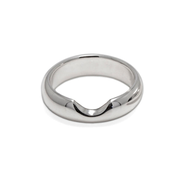 Shaped wedding ring shaped to fit wedding ring fitted wedding band