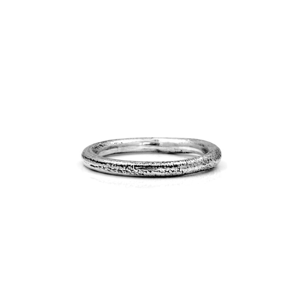 Silver twig ring - ready to wear