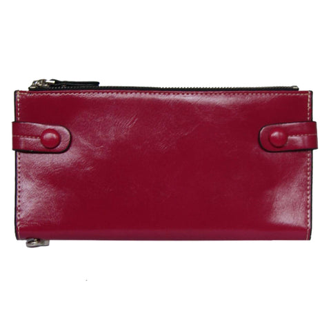 Fushia Bill Fold Wallet
