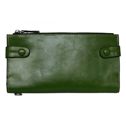 Green Bill Fold Wallet
