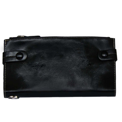 Black Bill Fold Wallet