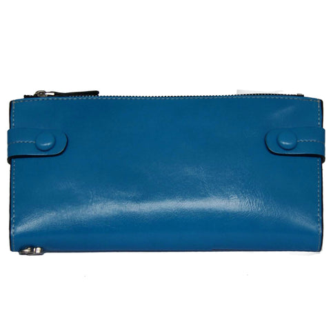Blue Bill Fold Wallet