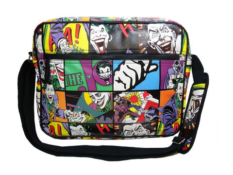 'The Joker' Pop Art Style Messenger Bag