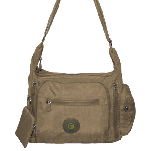 Beige Gabbie Medium Shoulder Bag