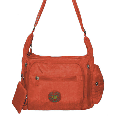 Orange Gabbie Medium Shoulder Bag