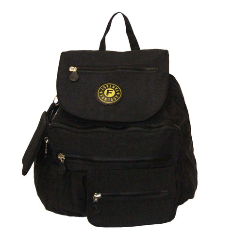 Black Small City Backpack