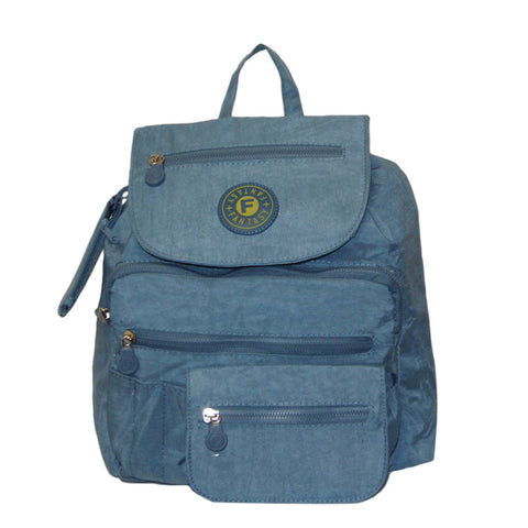 Light Blue Small City Backpack