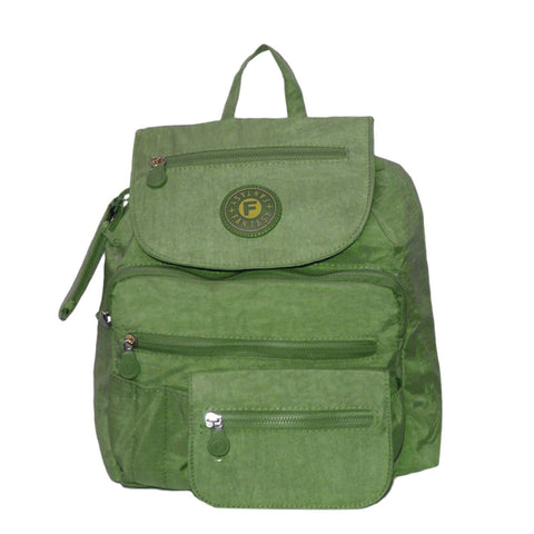 Green Small City Backpack