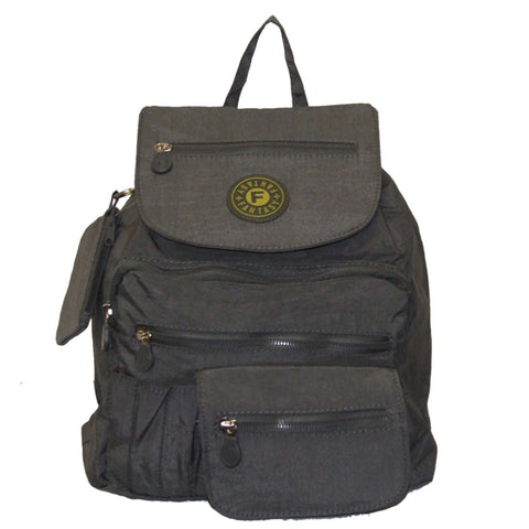 Grey Small City Backpack