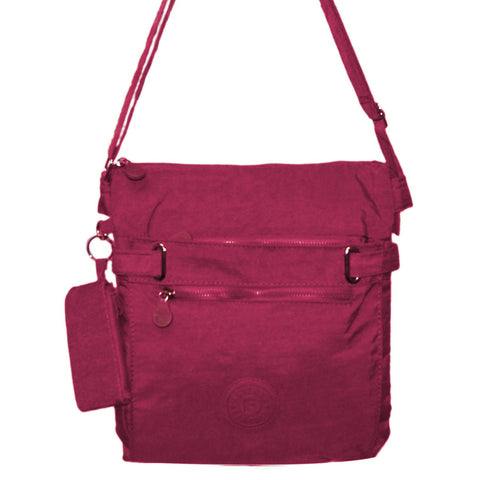 Fushia Medium Cross Body Bag