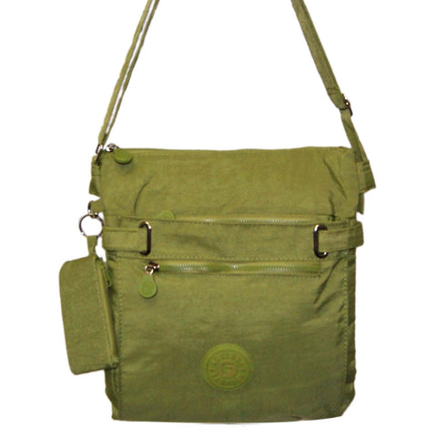 Green Medium Cross Body Bag