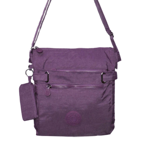 Purple Medium Cross Body Bag
